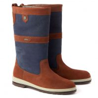 Dubarry Ultima Zeillaarzen Navy Brown Bootschoenenspecialist