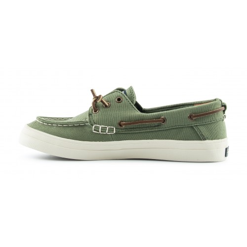Sperry Bootschoenen Crest Resort Denim Olive zijkant