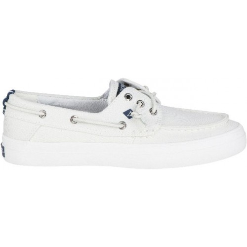 Sperry Bootschoenen Dames Crest Resort Washed Can. White