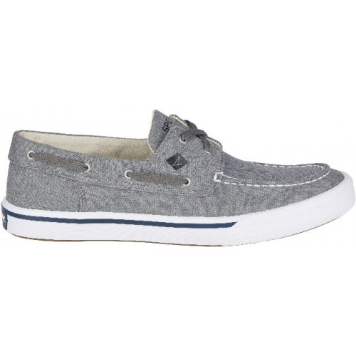 Sperry Heren Bootschoenen Bahama II Boat Washed Grey