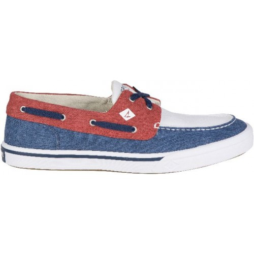 sperry_heren_bootschoenen_bahama_ii_boat_washed_navyred