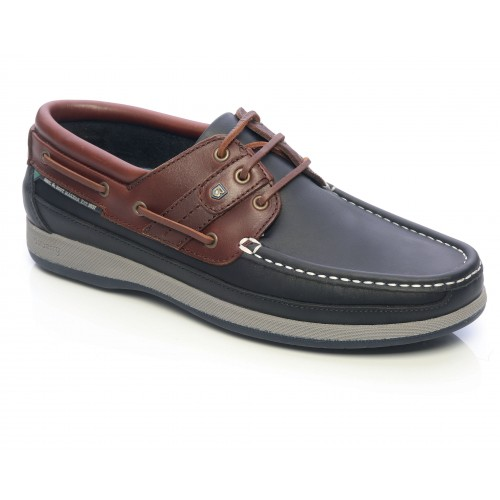 Dubarry Heren Bootschoenen Atlantic Navy-Mahogany