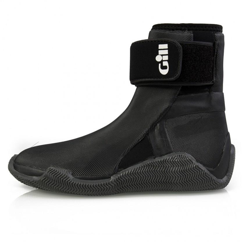 Gill Zeillaarzen Edge Boots Unisex Zwart