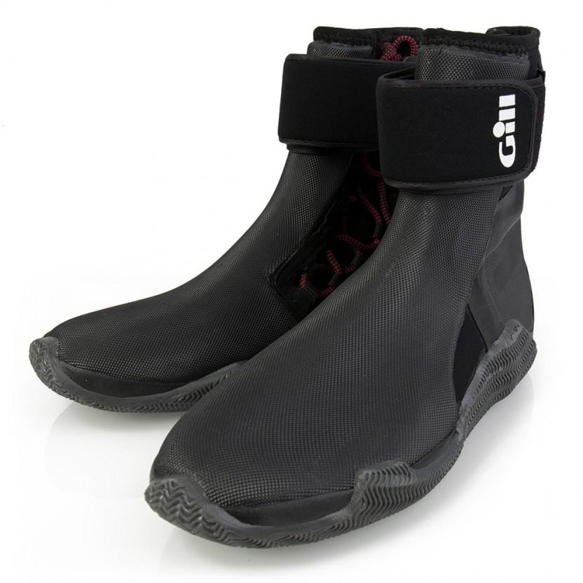 Gill Zeillaarzen Edge Boots Unisex Zwart 1