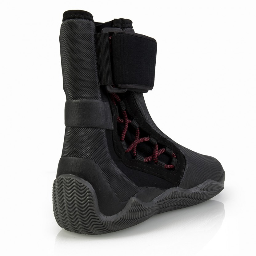 Gill Zeillaarzen Edge Boots Unisex Zwart 2