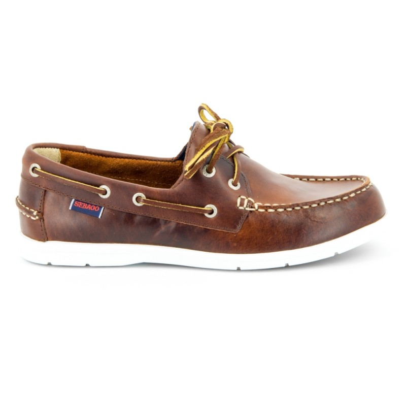 Sebago Bootschoenen Heren Litesides Two Eye Brown Oiled
