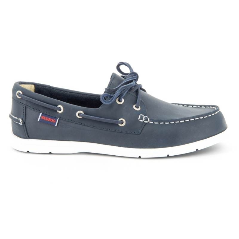 Sebago Bootschoenen Heren Litesides Two Eye Navy 4