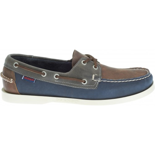 Sebago Bootschoenen Heren Spinnaker brown navy grey