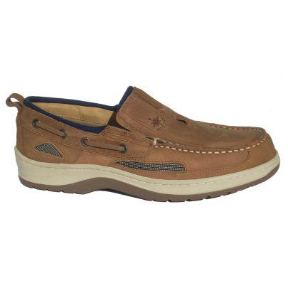 Blueport Heren Bootschoenen Deck Bark