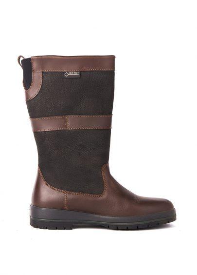 Dubarry Kildare Black Brown Bootschoenenspecialist.nl
