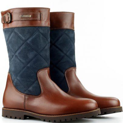 Sommerset Outdoorlaarzen Weston Bruin/Blauw Bootschoenenspecialist