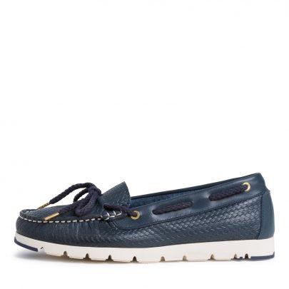 Bootschoenen Blauw Tamaris witte zool bootschoenenspecialist