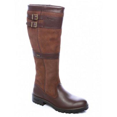Dubarry Longford Outdoorlaarzen Walnut Bootschoenenspecialist