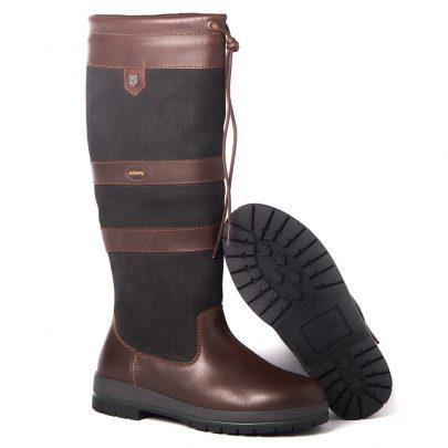 Dubarry Galway Black Brown bootschoenenspecialist