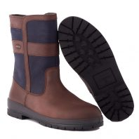 Dubarry Roscommon Outdoor Laarzen Navy Brown bootschoenenspecialist