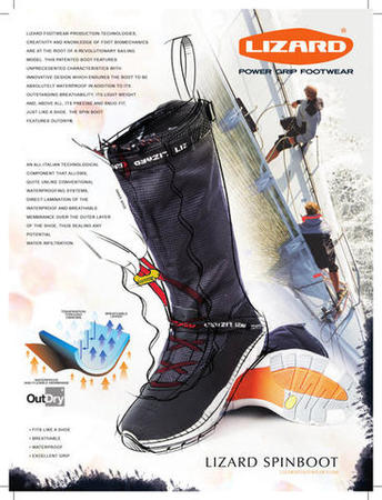 Lizard Shoe Spin zeillaarzen donker grijs bootschoenenspecialist 4